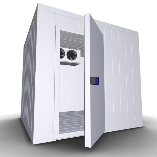 Холодильная камера КС8-11,06 - открытая дверь