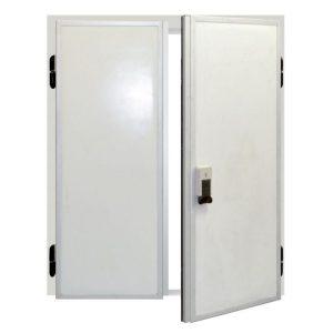 Распашные двухстворчатые двери серия РДД